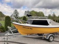 Sprzedam łódkę kabinową napęd solary plus akumulatory