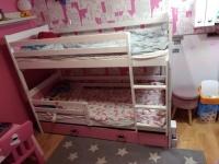 Łóżko piętrowe dla dziewczynek