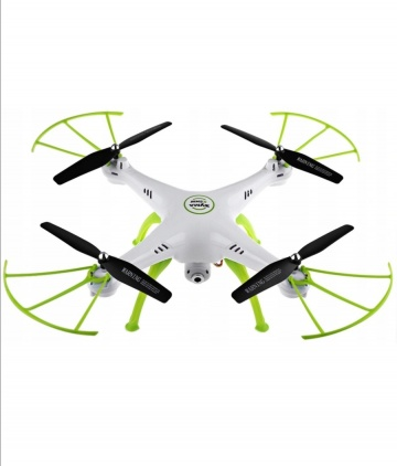 Dron z kamera funkcja zawisu
