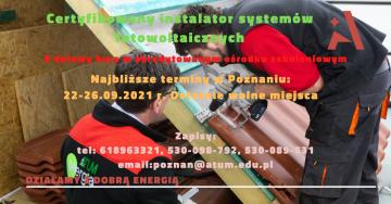 Instalator systemów fotowoltaicznych- 100% dofinansowania