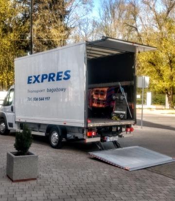 Przeprowadzki Transport Bagażowy 536 544 117