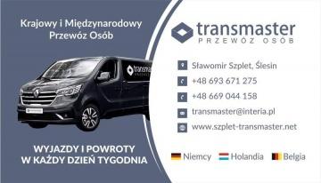 Trans Master - codzienny transport Niemcy Holandia Belgia