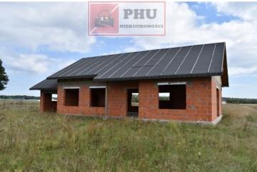 Dom w stanie surowym otwartym - sprzedam! 10km od Konina