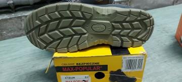 Sprzedam buty robocze z klapka