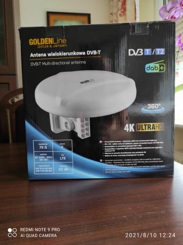 Antena DVB-T/,DVB-T2/DAB+