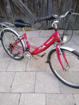 damka alu-bike fischer 26 biegi i damka młodzież hornet 24