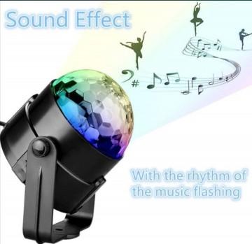 Projektor dyskotekowy kula disco