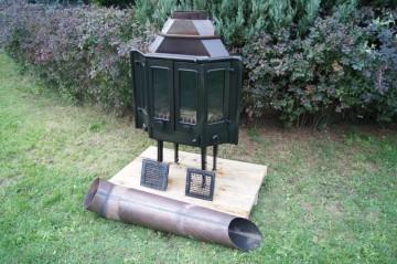Wkład kominkowy Olsberg-Feuer Kominek 11kW