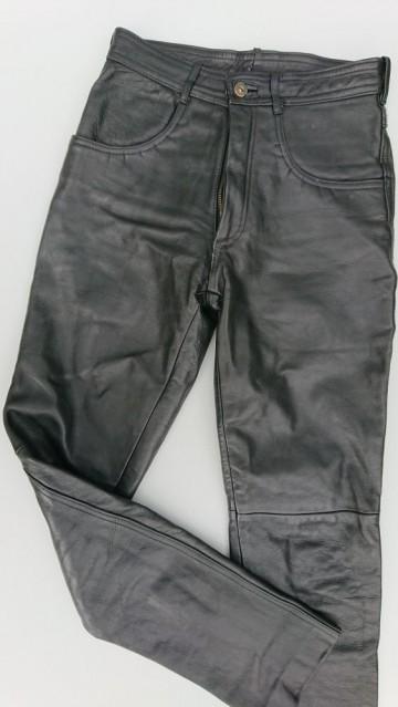 Spodnie skórzane rozm. 29