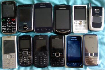 Telefony częśc sprawne ale jako złom