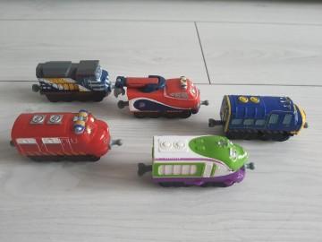 Stacyjkowo- wagony Bruno, Wilson, Koko, Zack, Jackman