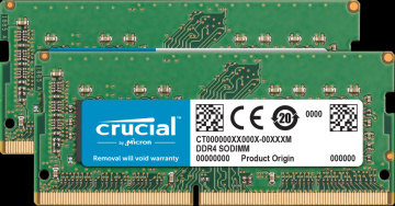 SODIMM DDR4 Crucial 16 GB