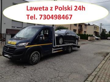 Pomoc drogowa transport samochodów z Niemiec tel. 730498467