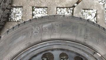 Opony zimowe Kleber 205/55 R16 + felgi