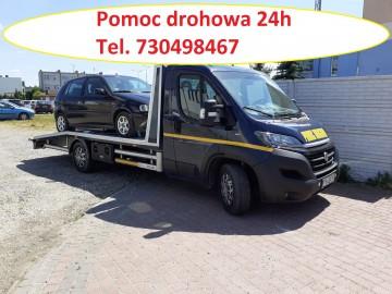 Pomoc drogowa Turek Tuliszków Rychwał laweta tel 730498467