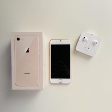 iPhon 8, Gold , 64 GB