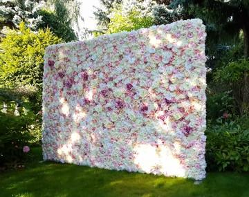 Ścianka kwiatowa, wesela, osiemnastki