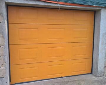 Brama garażowa segmentowa 2,5mx2,1 m automat NICE, 2x pilot
