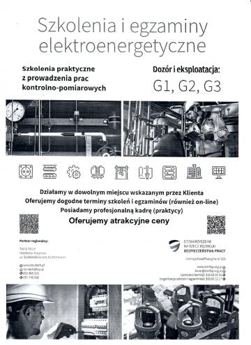 Szkolenia ,kursy  BHP , SEP - Usługi Techniczne