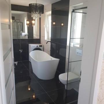 łazienki -kompleksowe usługi remontowo budowlane sprawdź FB!