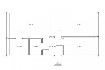 Przytulne 3 pokoje na V osiedlu