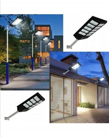 Lampa latarnia Solarna uliczna 200w