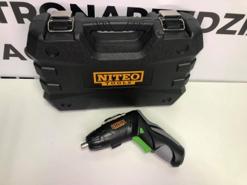 Zestaw Narzędzi z Wkrętakiem akumulatorowym Niteo Tools 3,6V