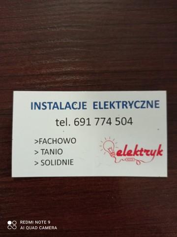 Elektryk !!!