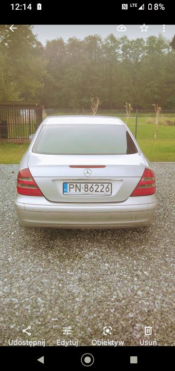 Mercedes E klasa W211 super stan
