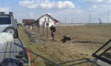 montaż ogrodzeń panel siatka bramy furtki