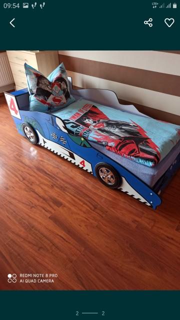 Łóżko samochód dla chłopca