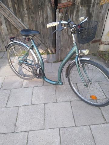 rower damka łabędź koło 26 3 biegi