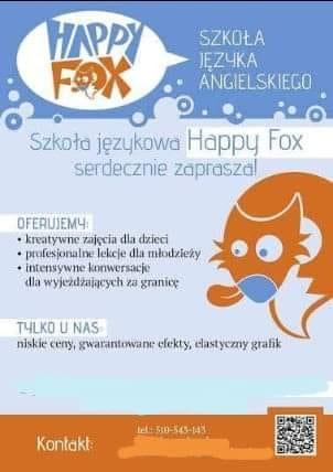 """Szkoła Językowa """"Happy Fox"""""""