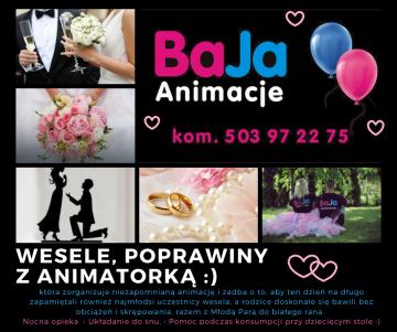 BaJa Animacje wesela festyny urocz. rodzinne, 40-stki... itp