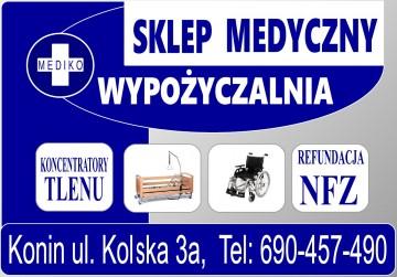 WYPOŻYCZALNIA MEDYCZNA & ŁÓŻKA NA PILOTA Mediko 607 179 623