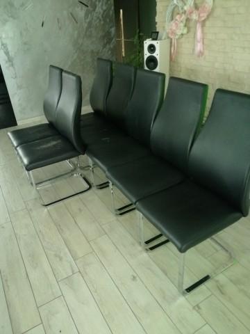 Krzesło na płozach 7szt