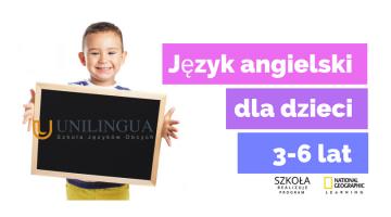 ANGIELSKI DLA DZIECI 3-6 LAT. Unilingua Konin