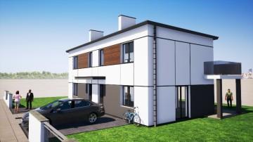 Nowe domy – Wola Podłężna k. Konina