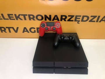 Konsola PS4 1TB Model: CUH-1216B + 2 Pady  Komplet: konsola,