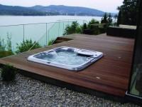 Wanny ogrodowe | minibaseny SPA | jacuzzi | hydromasaż