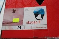 Kask narty snowboard RED Skycap II Classic niebieski, rozm M