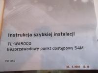 TP.LINK TL-WA 500G