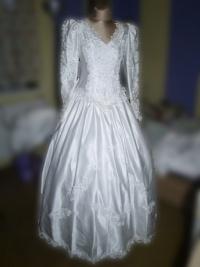 Tanio suknia ślubna rozmiar 38