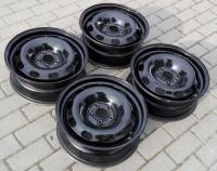 Felgi stalowe 15 cali VW Golf IV / Audi A3 czarne 5x100 ET38