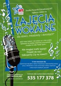 Zajęcia wokalne dla dzieci, młodzieży i dorosłych!