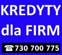 Kredyt / pożyczka dla FIRM od 6 miesiąca działalności .