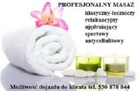 Masaż leczniczy Łomianki 530 878 844 (Dojazd do Klienta)