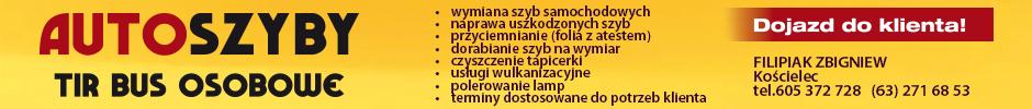 Auto szyby Zbigniew Filipiak - TIR, bus, osobowe