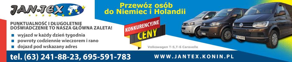 JAN-TEX Przewóz osób do Niemiec i Holandii