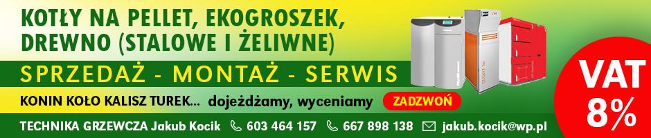 Technika grzewcza Jakub Kocik - kotły na pellet, ekogroszek, drewno